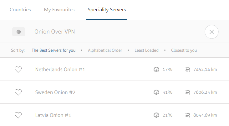 Onion over VPN - Windows