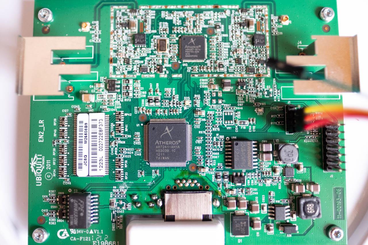 Unifi AP - znovuzprovoznění zcihleného AP pomocí tftp - blikající