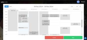 vytein calendar with invitee's availability