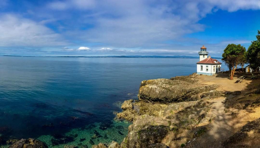 Lighthouse on Vashon Island