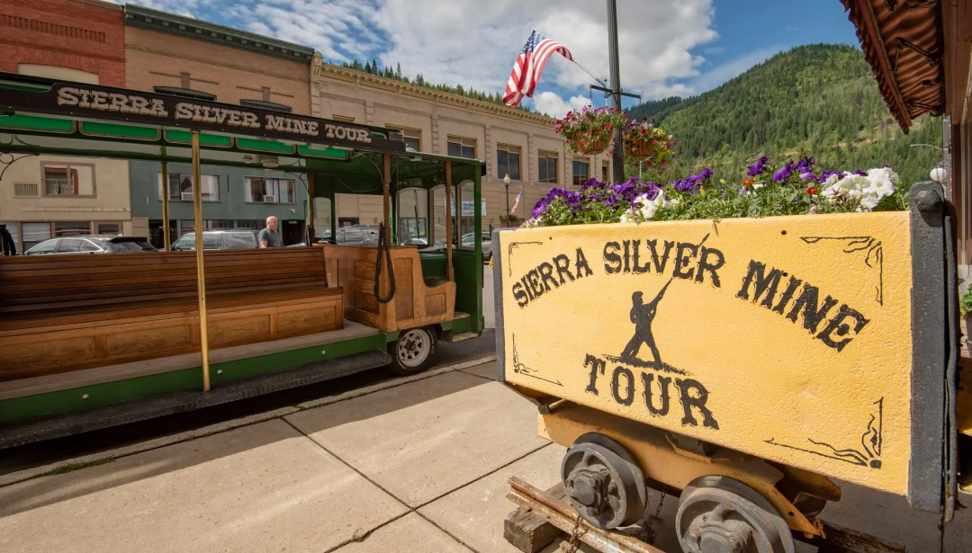 The Sierra Silver Mine Tour in Wallace, Idaho