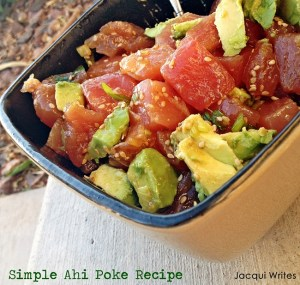 Simple Ahi Poke Recipe