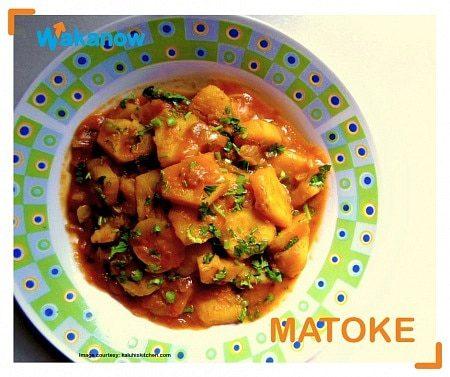 matoke food