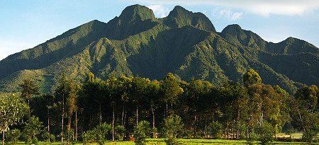 Christmas vacation volcano park