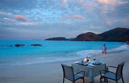 Praslin Islands Seychelles Romantic getaway spots in Africa