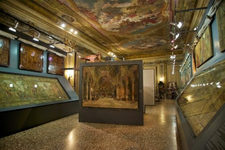 Museum Tapestries Basilica in Venice Italy