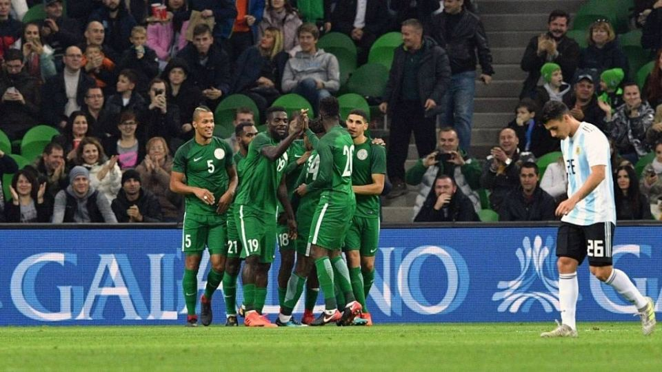 FIFA World Cup - Super Eagles Friendly match
