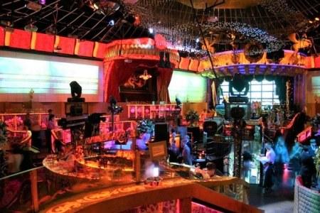 Inside a russian nightclub