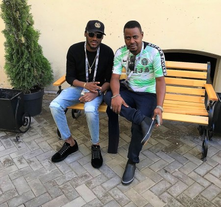 Oluwole Taylor with Tuface - 2face - in Russia