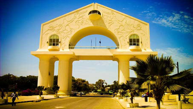 Banjul Arch Celebration