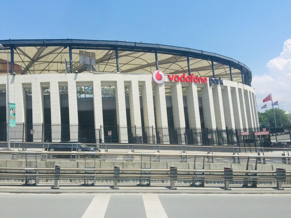 Vodafone Park, Besiktas