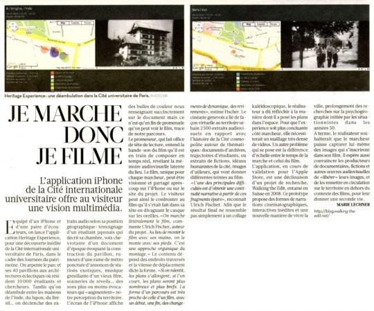 Article Libération du 25 septembre 2010