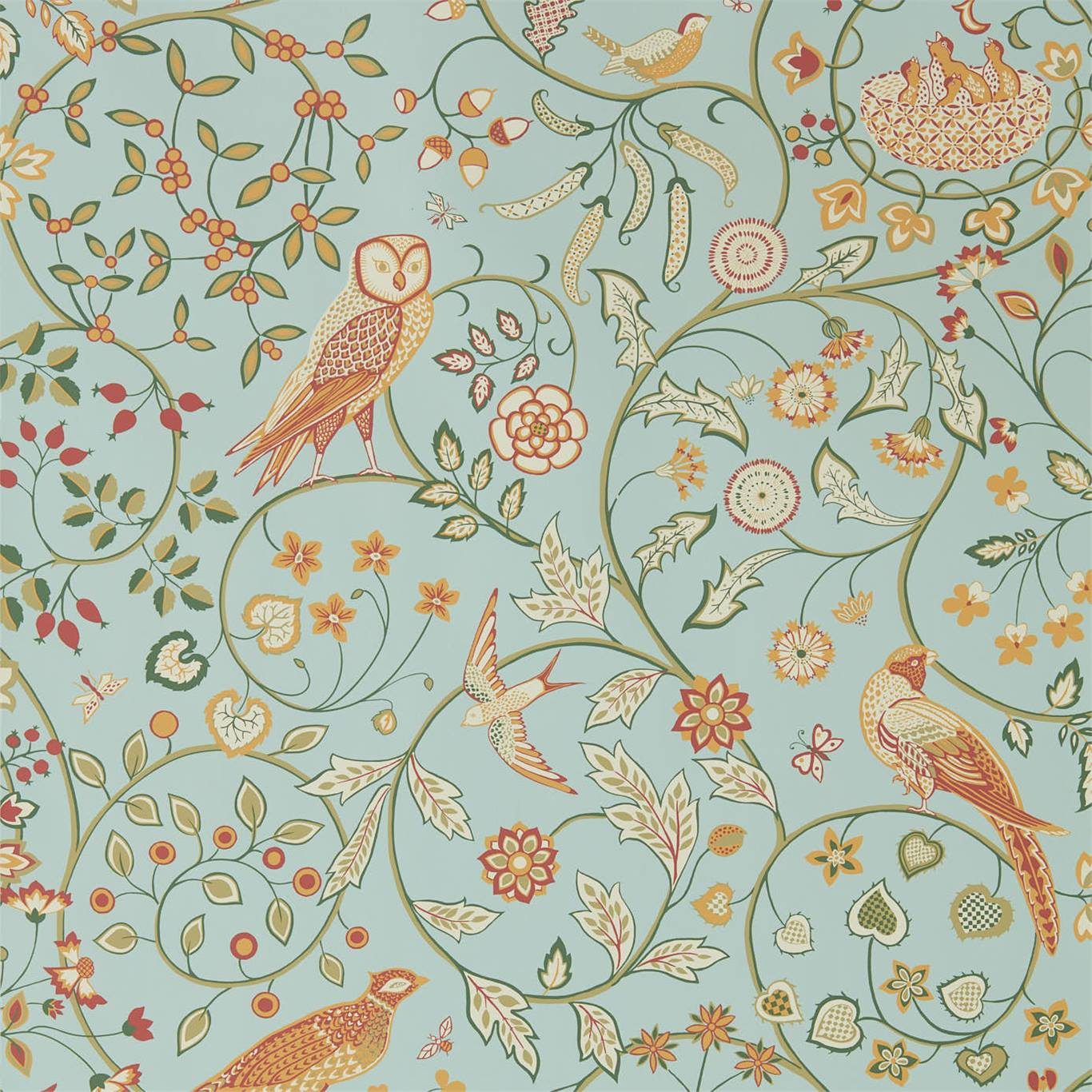 Newil wallpaper by Morris & Co.