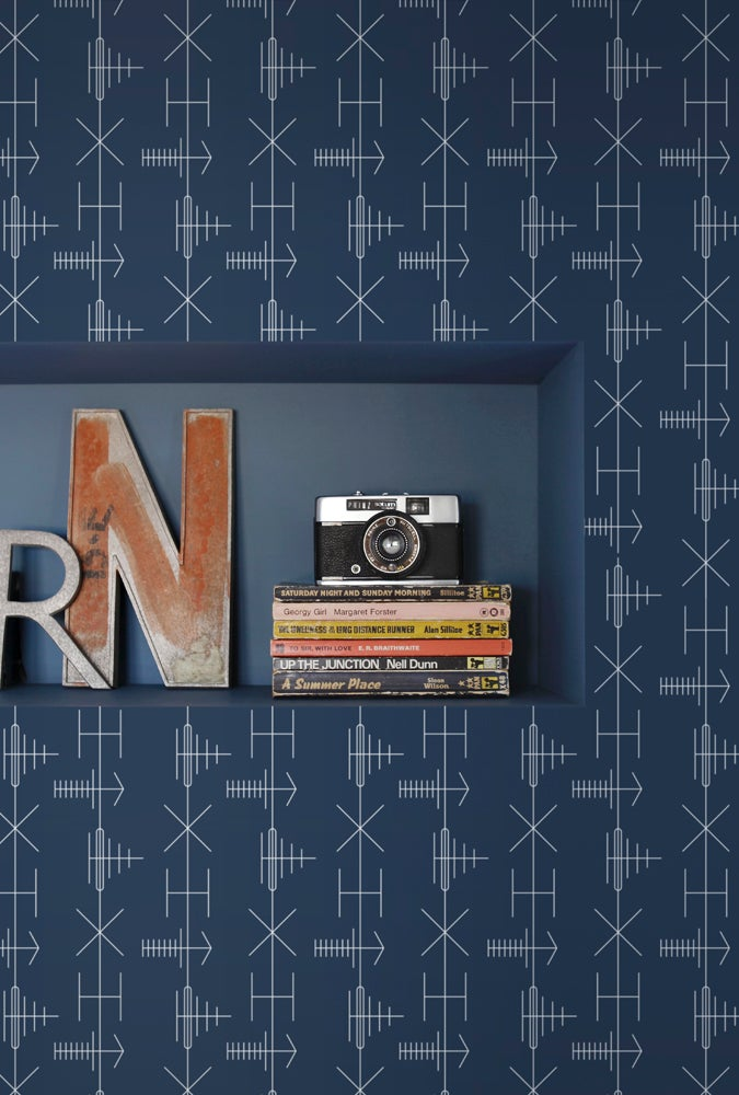 Mini Moderns Transmission wallpaper at wallpaperdirect