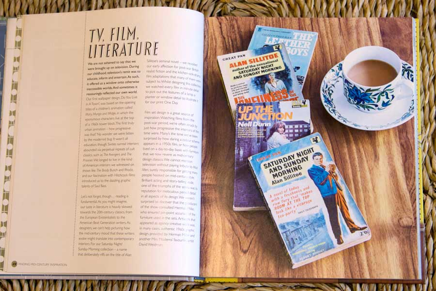 Mini Moderns TV, film and literature influences