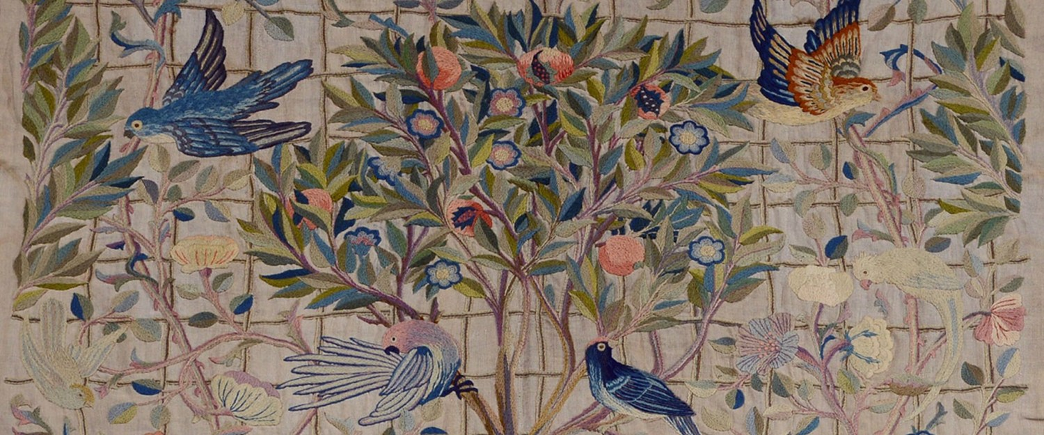May Morris wall hanging