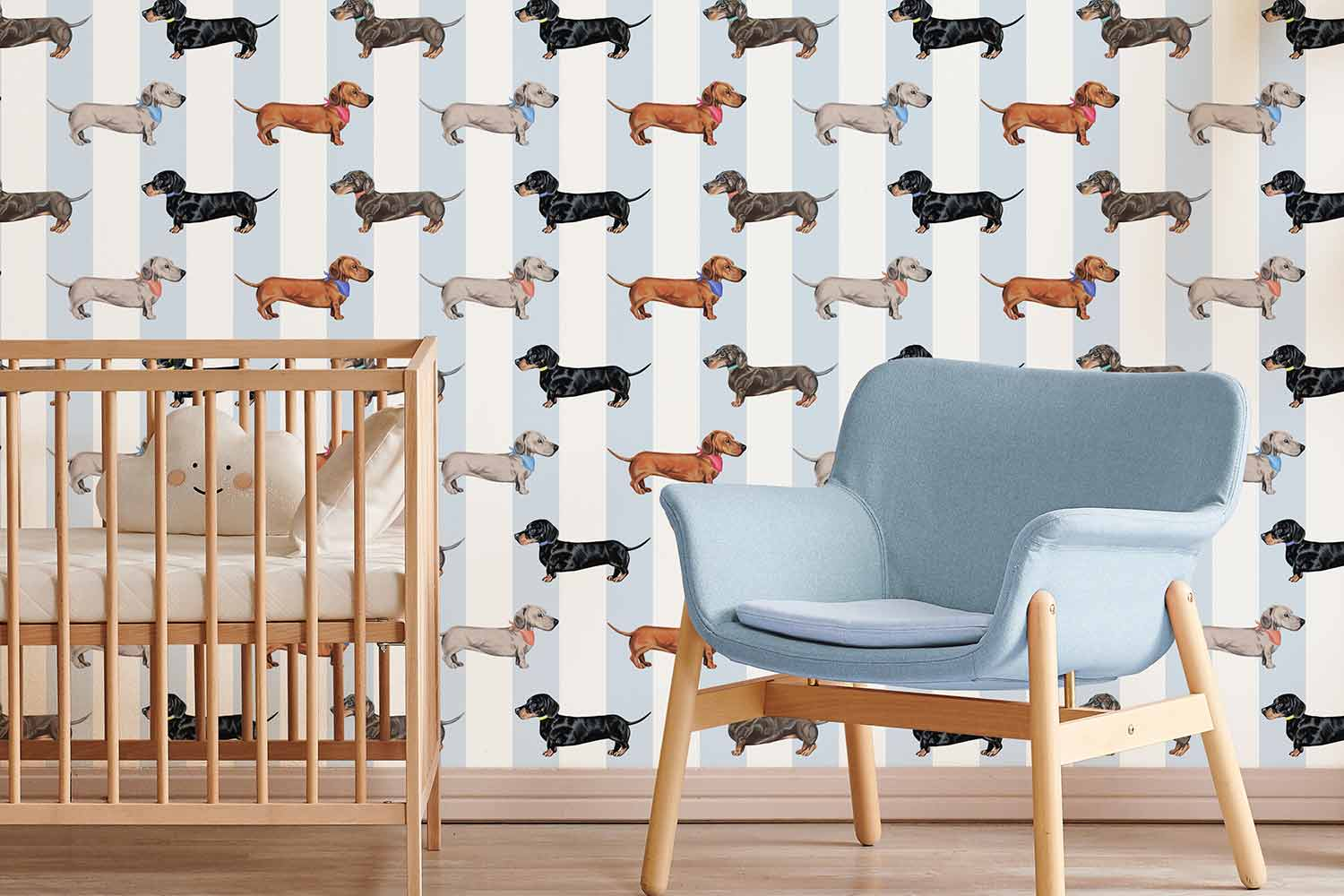 The Graduate Collection - Dachshund pattern