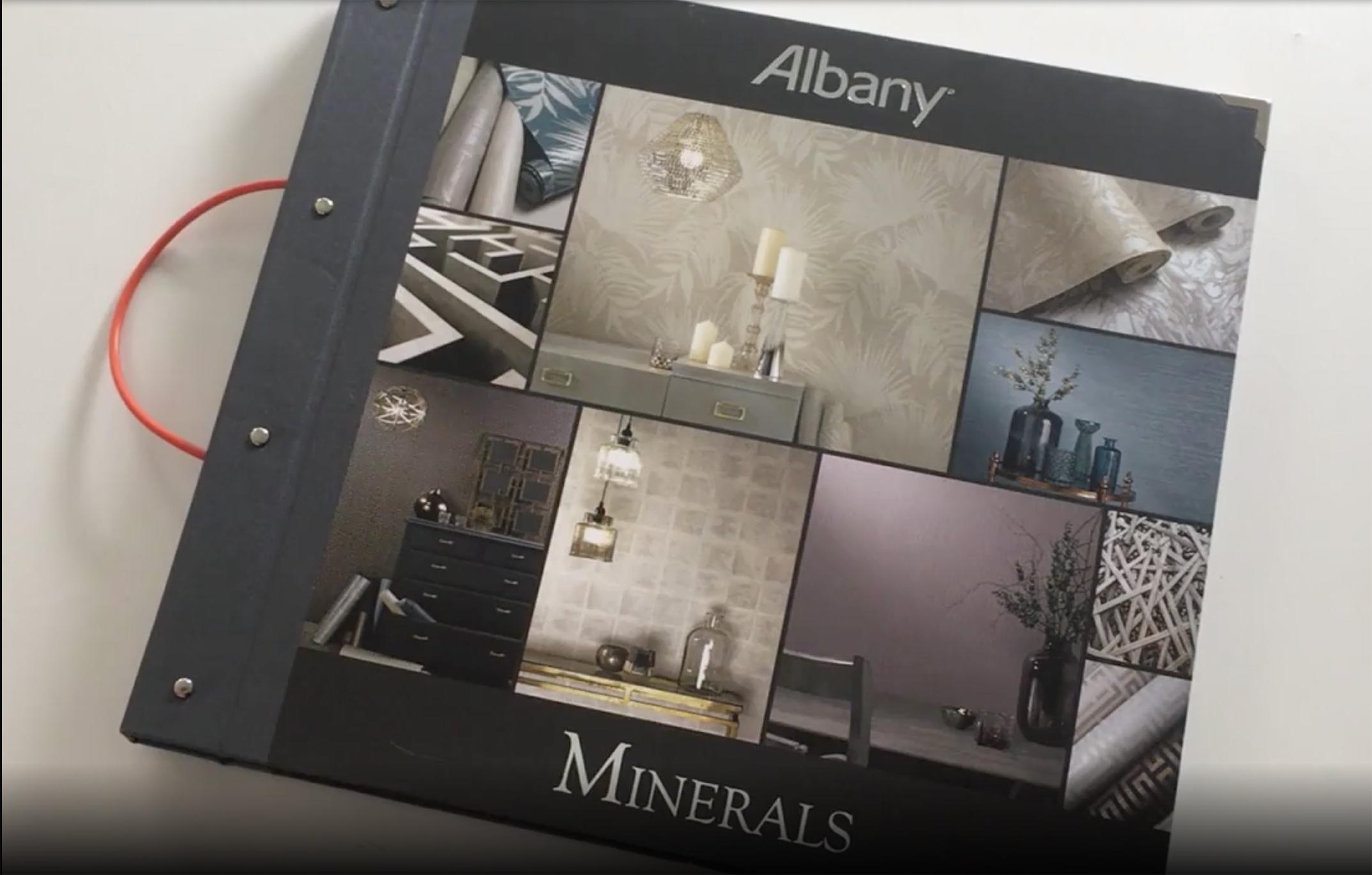 Wallpaper book club – Albany Minerals