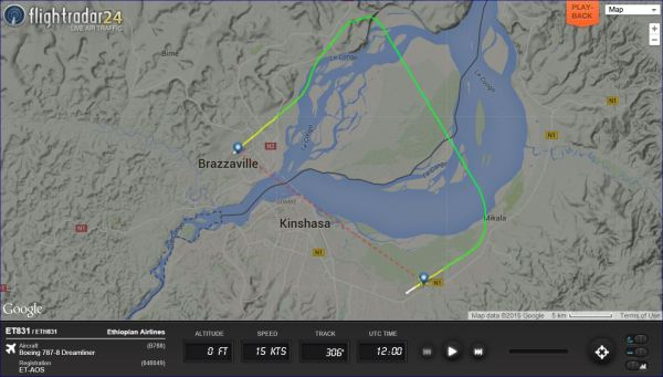 The shortest 787 flight in the world - Wandering Aramean