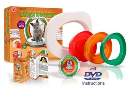 Kit complet Litter Kwitter pour chat