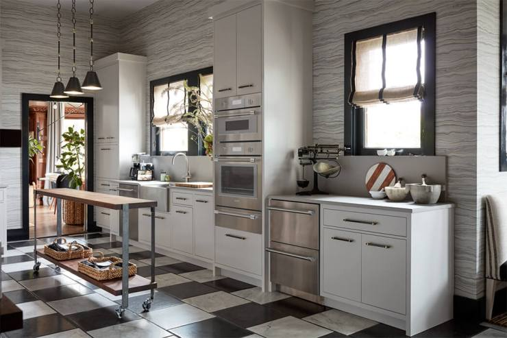 kitchen with Thermador appliances