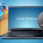 Cara paling cepat install ulang windows