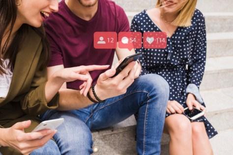 redes sociales y leads