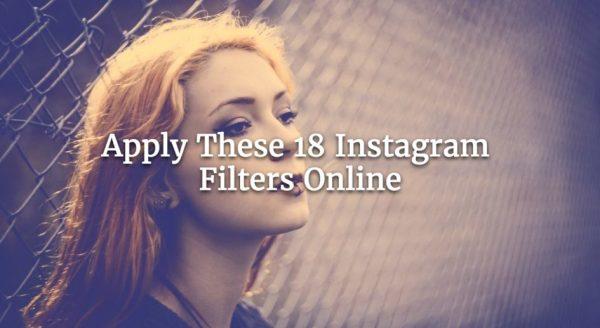 Apply These 18 Instagram Filters Online - Watermark.ws Blog