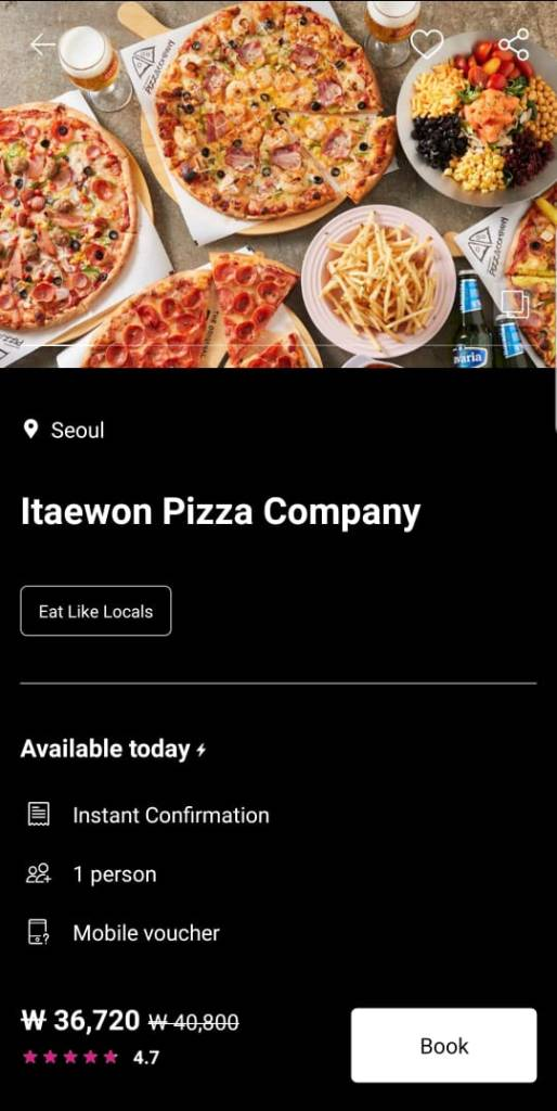 halal-brunch-pizza-itaewon-restaurant