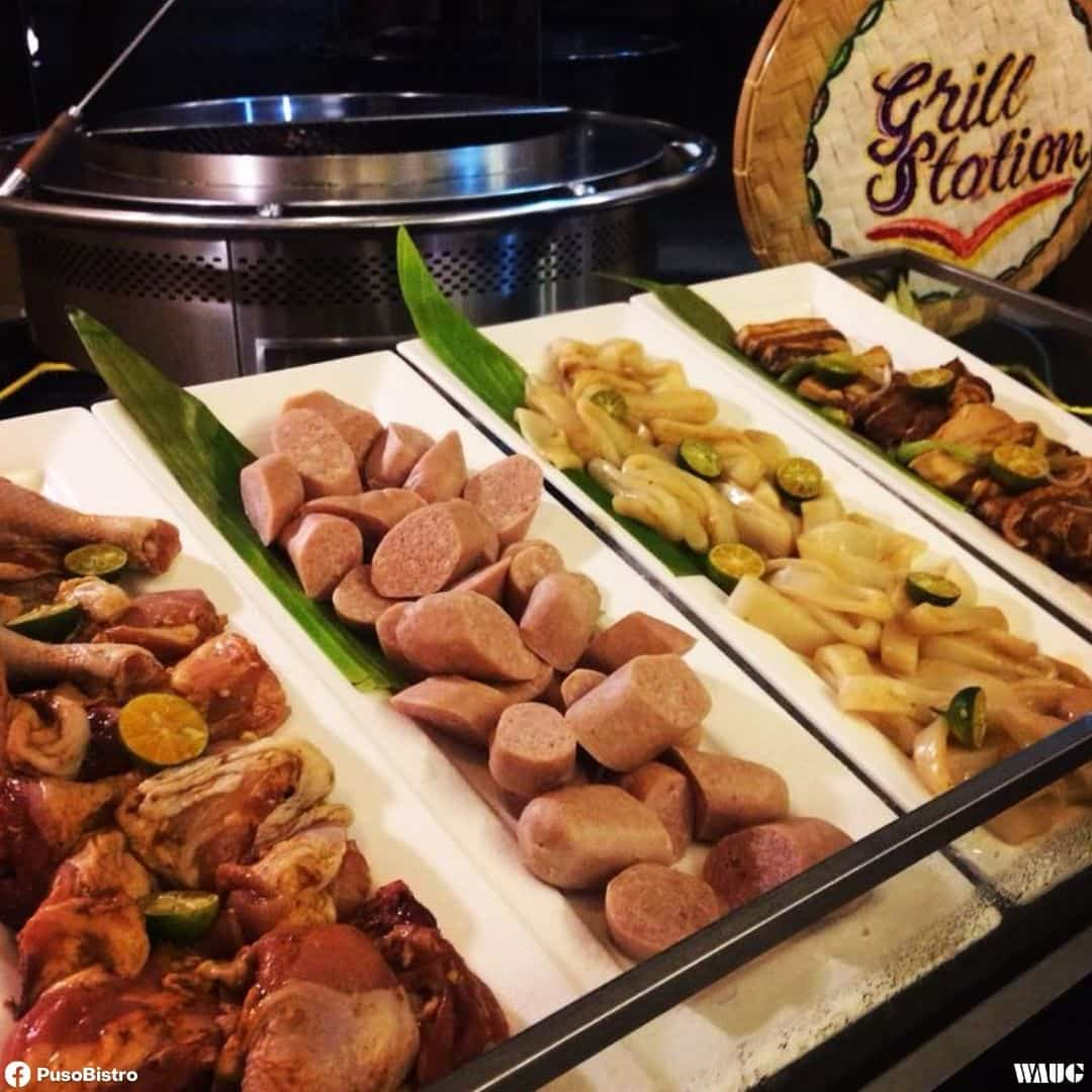 puso bistro bar buffet price