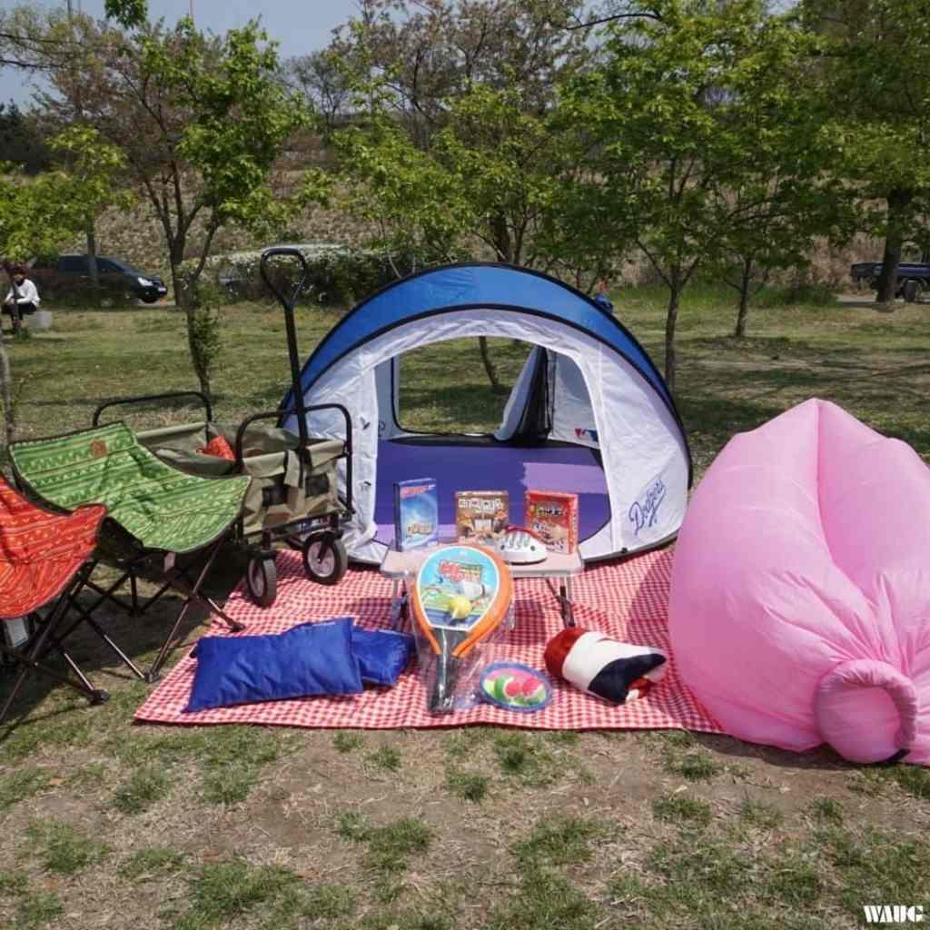 han river park tent