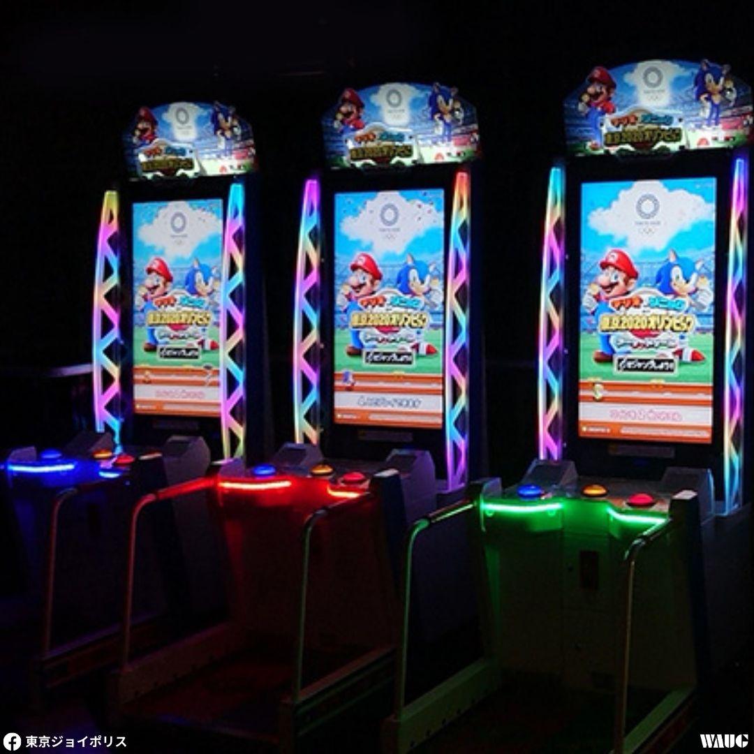 joypolis Sega game odaiba ticket