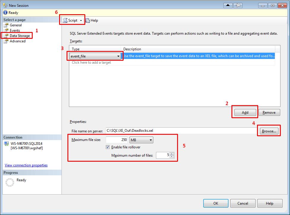 SSMS2014XE06-ConfigureDataStorage