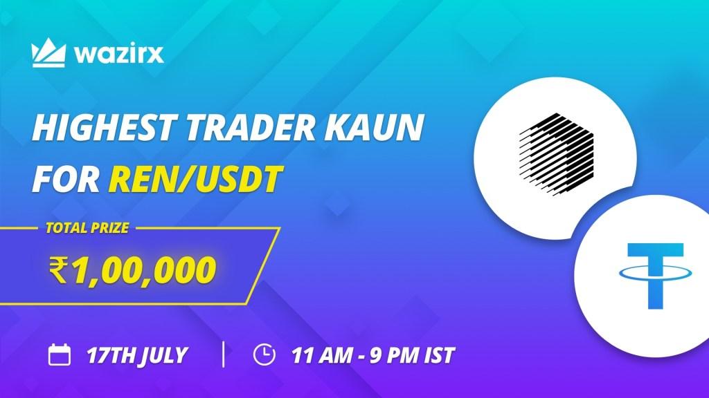 Highest Trader Kaun for REN/USDT