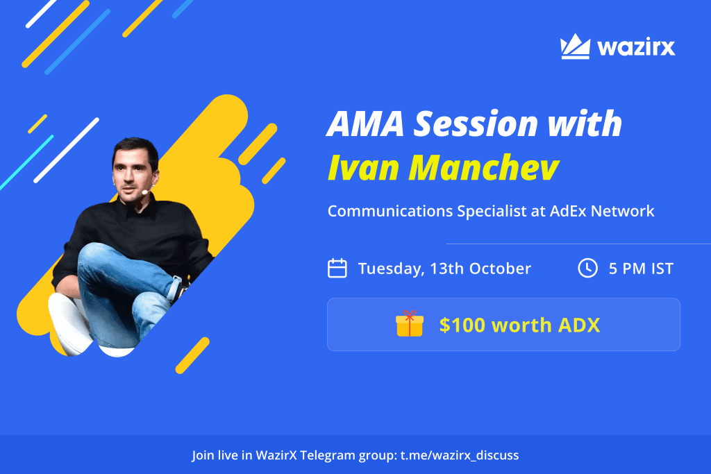 AMA with Ivan Manchev, Communications Specialist at AdEx Network