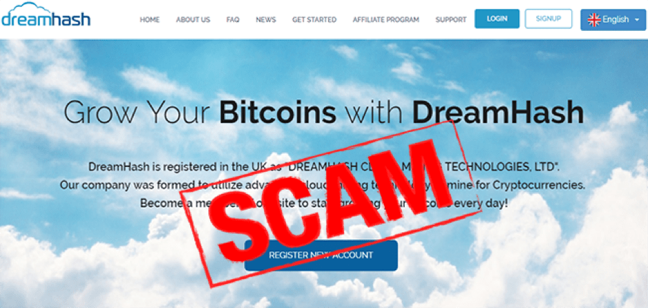 Cloud Mining Scams