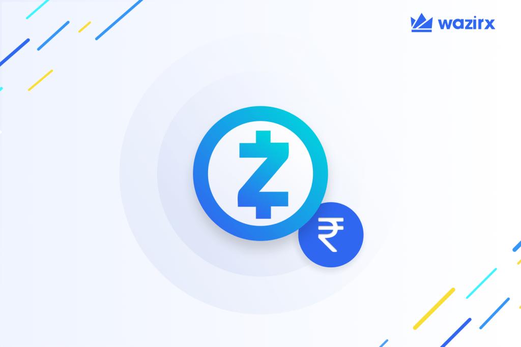 ZEC/INR trading is live on WazirX