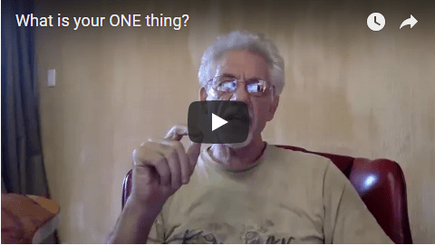 [Day 04] What Is Your ONE Thing?