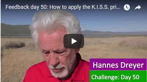 [Day 50] How To Apply The K.I.S.S. Principle To Your Investments
