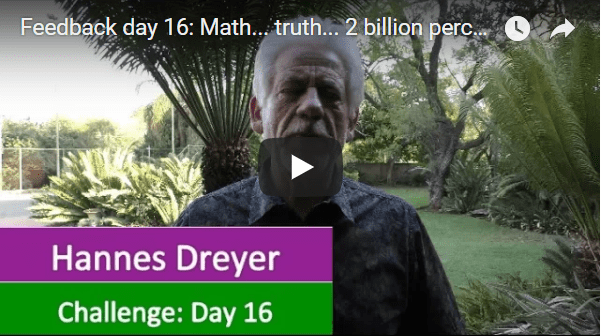 [Day 16] Math… Truth… 2 Billion Percent Growth…