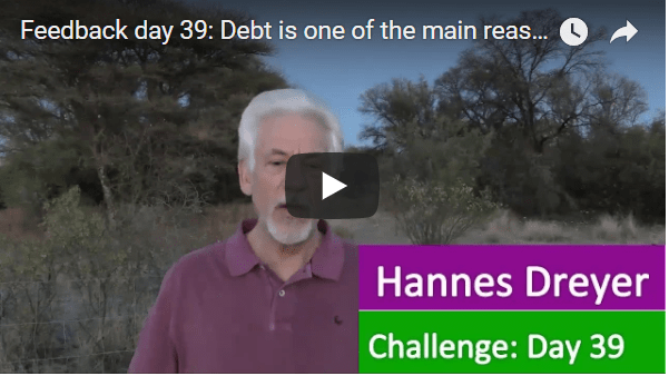 [Day 39] Debt Is One Of The Main Reasons Why People Will Never Be Financially Free