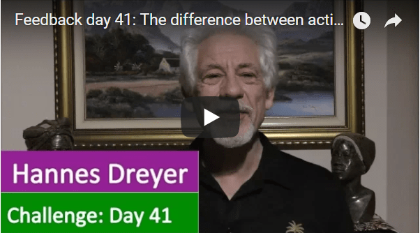 [Day 41] The Difference Between Active Income And Passive Income