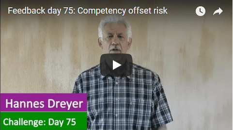 [Day 75] Competency Offset Risk
