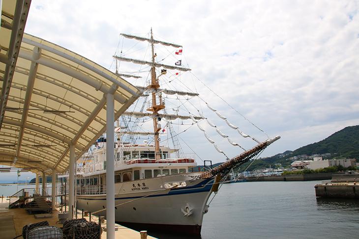 日本丸という船に乗ったよ