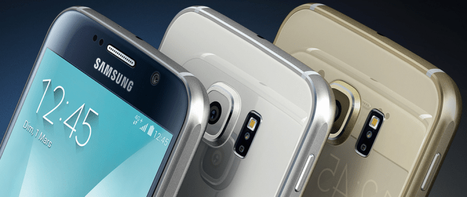 Samsung Galaxy S6 couleurs