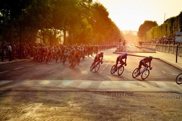 cyclistes au Tour de France
