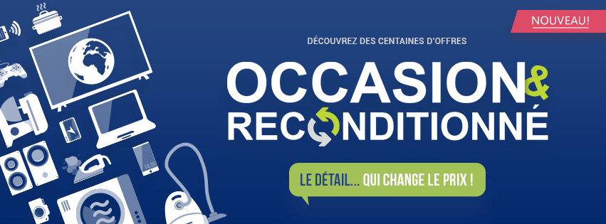 Occasion et reconditionné