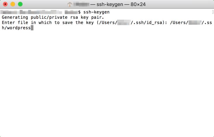 建立 SSH 金鑰 - Step 2