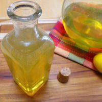 Homemade Limoncino (Limoncello)