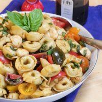 Caprese Tortellini Salad #SundaySupper